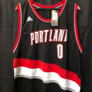 Portland TrailBlazers Damian Lillard Adidas Swingm
